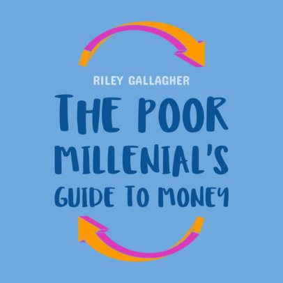 Book Cover Template for Financial Books 2129e