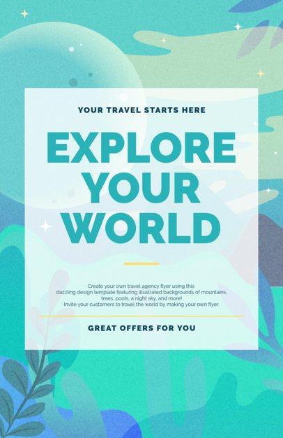 Travel Flyer Maker for Travel Agencies 329