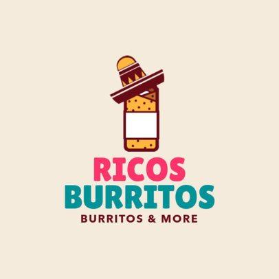 Restaurant Logo Maker for Burrito Restaurants a1226