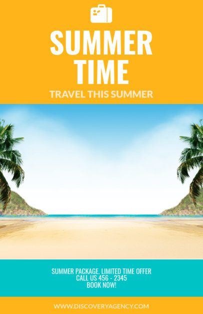 Online Flyer Maker for Travel Agencies Centered Image 307
