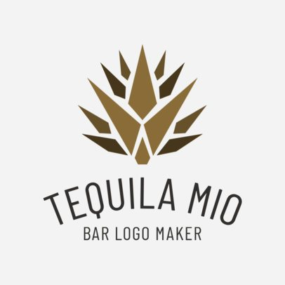 Bar Logo Maker for a Mexican Bar 1195b