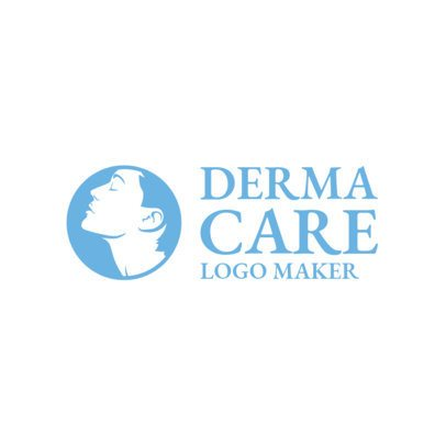 Online Logo Maker for Dermatological Center with Faces Icons 1176f