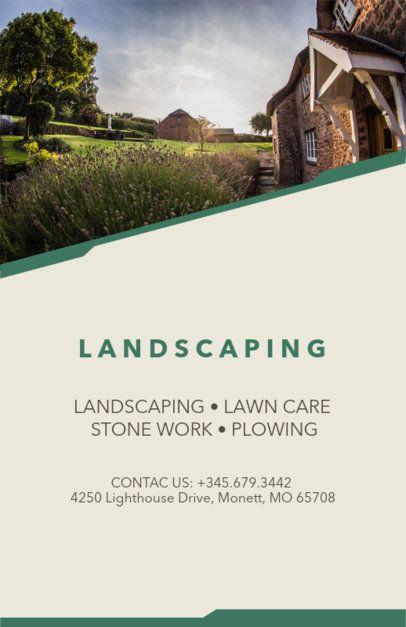 Lawn Care Online Flyer Maker 159c