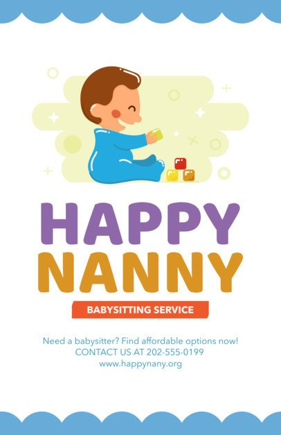 Flyer Maker for Babysitters 343