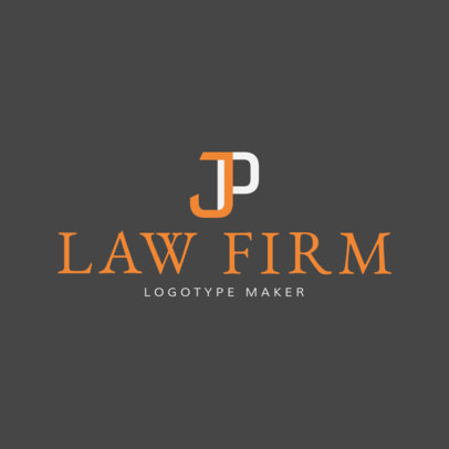 Logo Maker for Law Firms and Attorneys 1096c