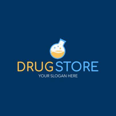 Clinic Drug Store Logo Maker 1157b