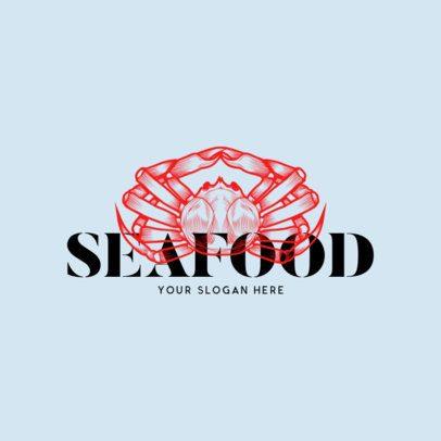 Online Logo Maker for a Seafood Restaurant 973c
