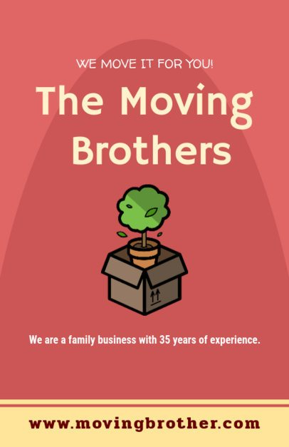 Flyer Maker to Design Flyers for Movers 204e