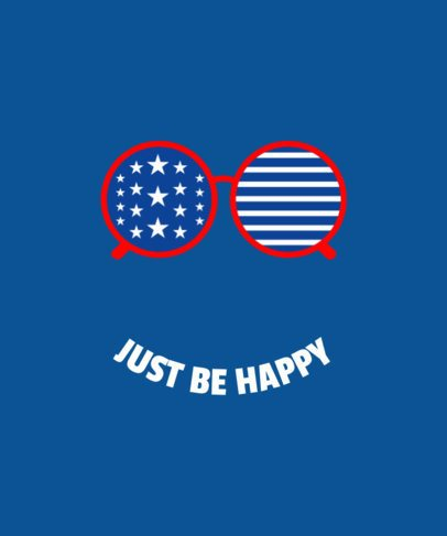 T-Shirt Design Maker for 4th of July Quotes 42c