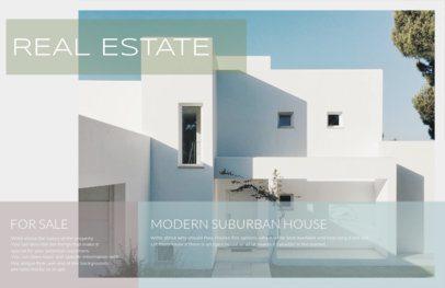 Online Real Estate Flyer Maker for Modern Houses 249d