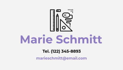 Business Card Maker for Civil Engineers Design Icons 346e