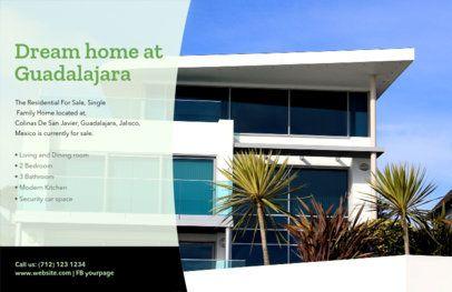 Customizable Open House Flyer Template 345c