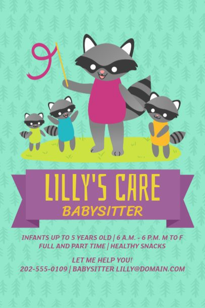 Daycare Online Flyer Maker 326b