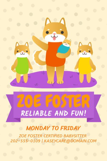 Home Daycare Online Flyer Maker 326c
