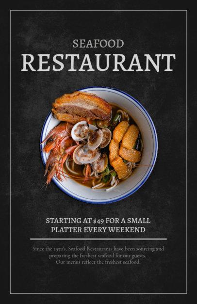 Flyer Maker for Seafood Restaurants 361