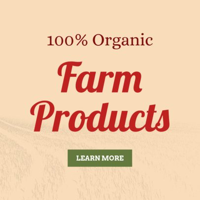 Online Banner Maker for Farm Products 380