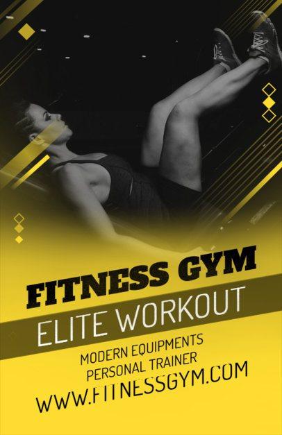 Fitness Online Flyer Maker 353a