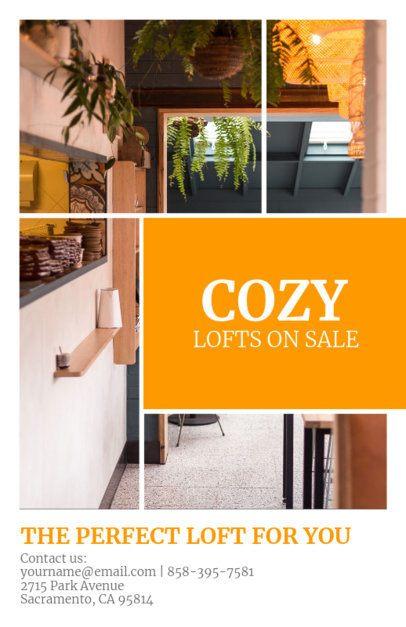 Real Estate Online Flyer Maker for an Open House 156c