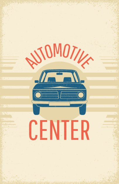 Flyer Maker for Auto Centers #267c