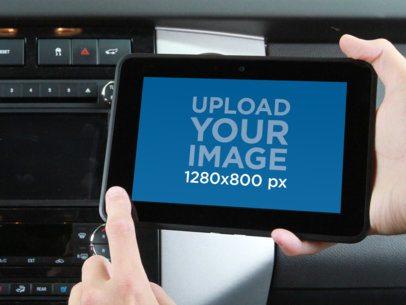 Kindle In Car Landscape