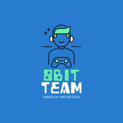 Video Game Logo Maker 1289