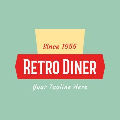 Diner Logo Maker 1229a