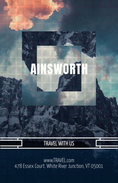 Travel Flyer Maker with Photography Designs 309c