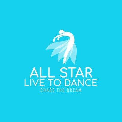 Custom Logo Maker for Dance Studios 1257c