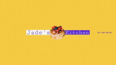 Banner Maker for Online Cooking Shows 399e