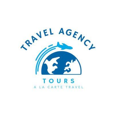 Travel Agency Logo Maker 1281