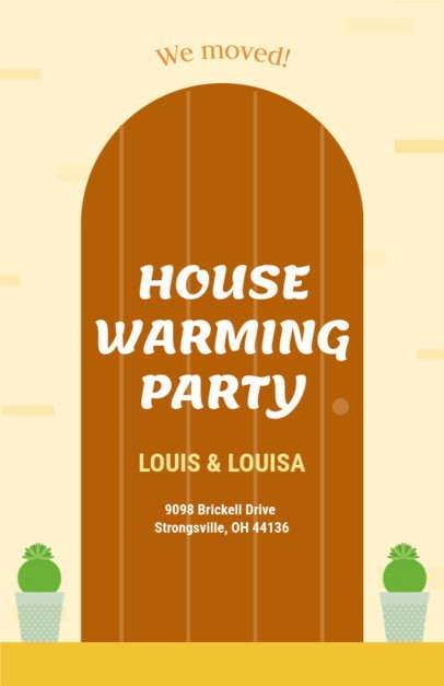 Online Flyer Maker for a Housewarming Party 340b