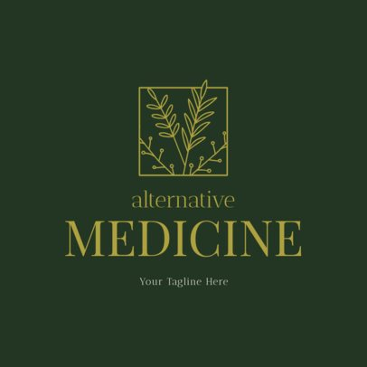 Logo Maker for Alternative Health Services 1294a