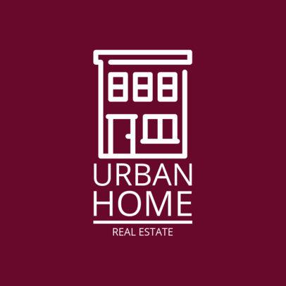 Real Estate Logo Template 1337