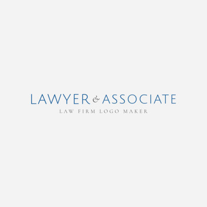 Law Firm Logo Template 1353