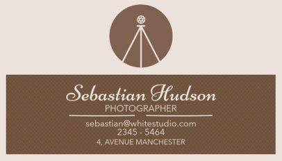 Professional Photographer Business Card Maker 507