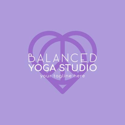 Yoga Studio Logo Generator 1360-4172