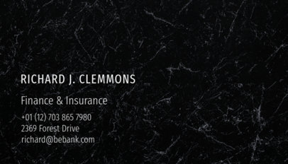 Insurance Business Card Template 511b