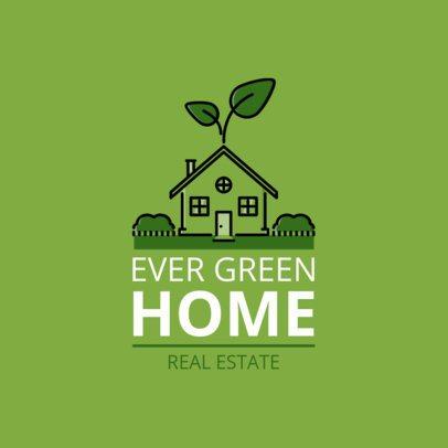 Cool Real Estate Agency Logo Maker 1337a