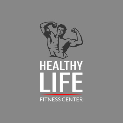 Personal Trainer Logo Template 1347d