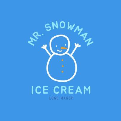 Ice Cream Logo Maker with Clip Art 1400b