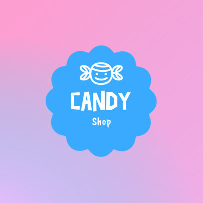 Candy Shop Logo Maker with Fun Icons 1389-4136