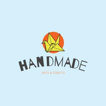 Handmade Crafts Logo Template 1402c