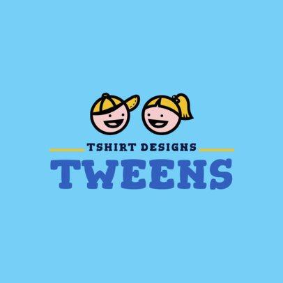 Tween Brand Logo Maker 1322c