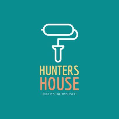 Logo Maker for Home Restoration Services 1431b