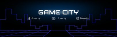 Classic Video Game Twitch Banner Template 577c