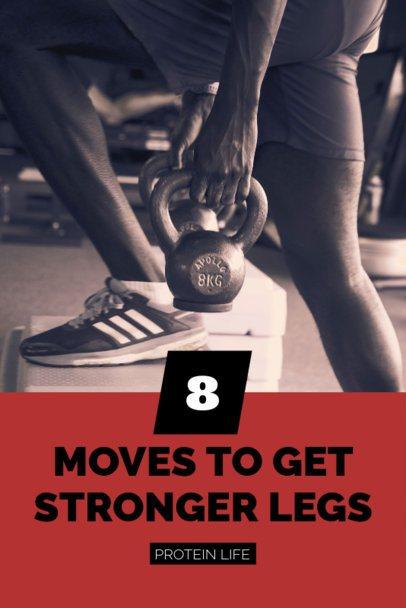 Pinterest Pin Template for Exercise Tips 626e