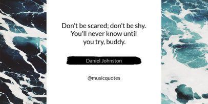 Twitter Post Template for Quotes 611