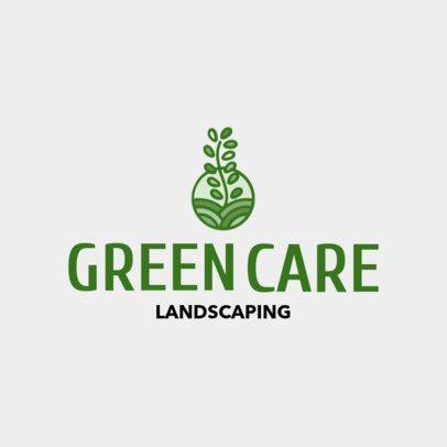 Landscaping Logo Generator 1435d