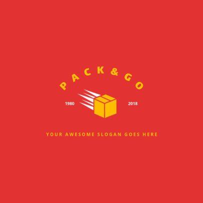 Express Packing Logo Generator 1388e