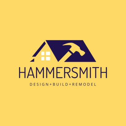 Home Design and Remodel Logo Template 1430d